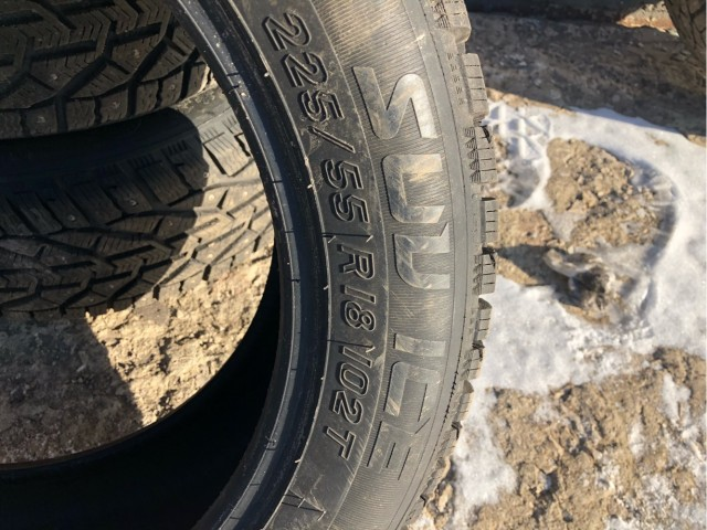 Шипованные колеса r18 продаю