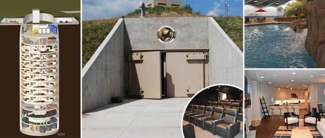 Роскошный подземный 15-этажный бункер за $ 1,5 млн, где можно пережить апокалипсис