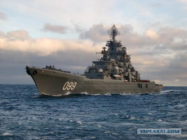 """Адмирал о дымящем Кузнецове: """"И что здесь странного ?"""""""