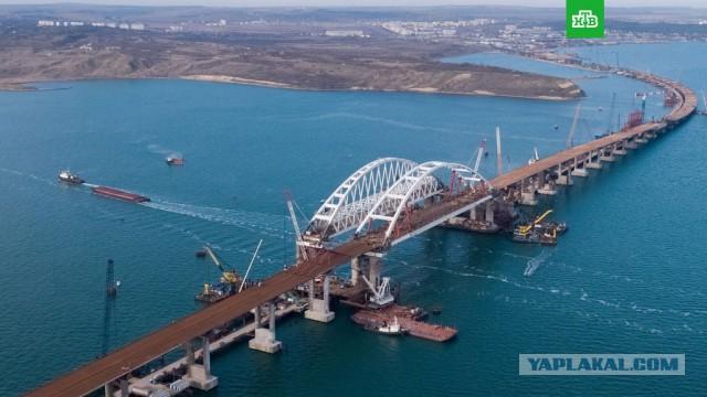 Крымский мост откроют в мае