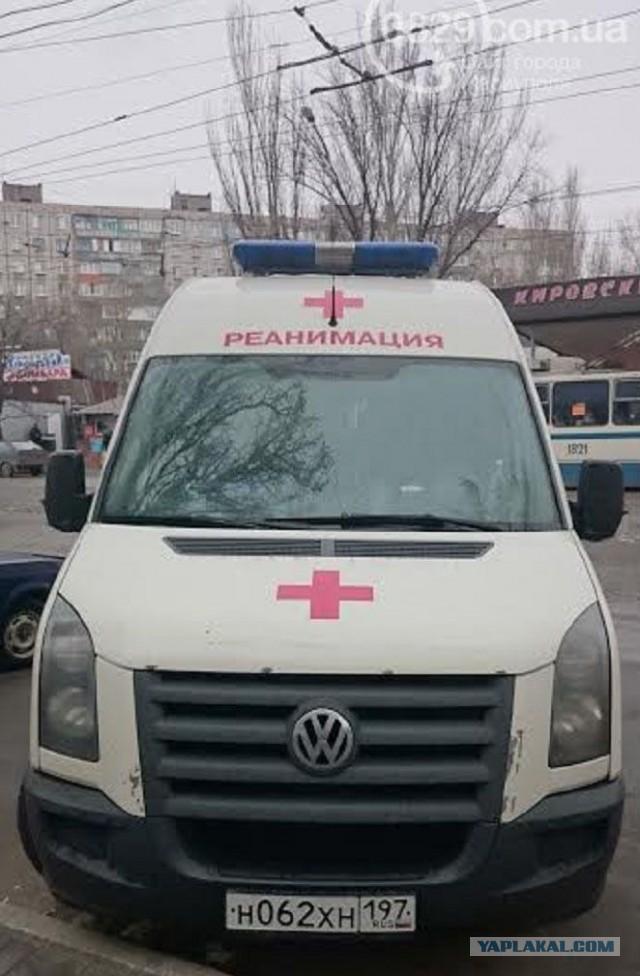 Фото автомобиля скорой помощи с московскими номера