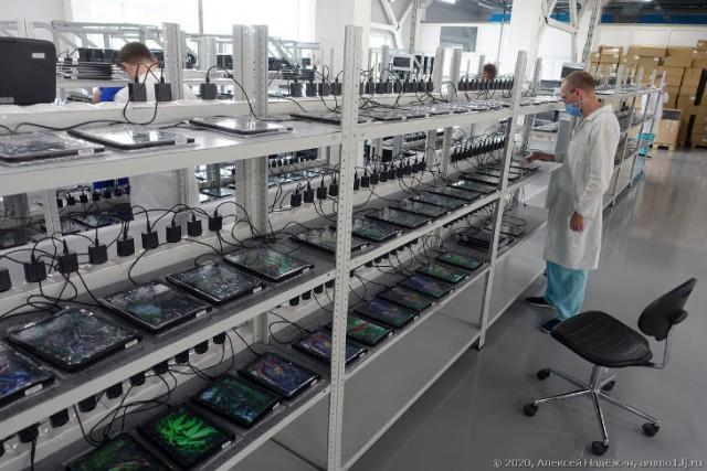 Российский планшет и как он делается в Шуе