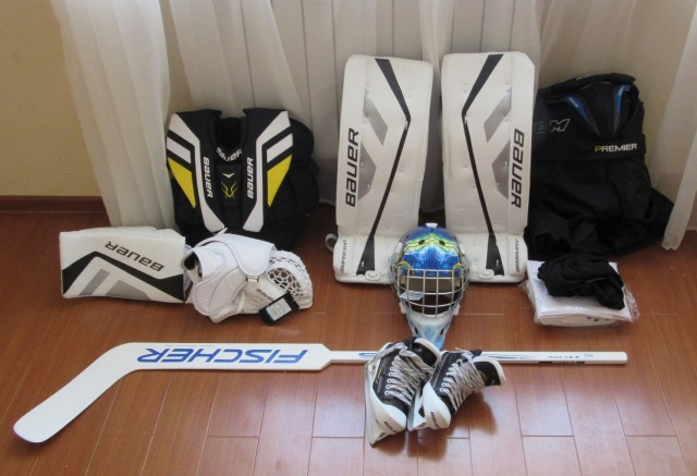 Вратарская форма хоккейная