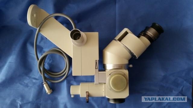 Микроскоп Никон.