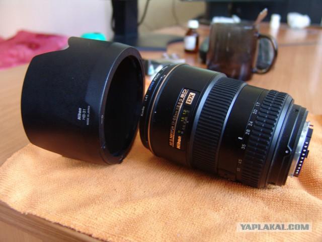 Продам объектив Nikkor 17-55mm