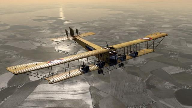 Первый в мире пассажирский самолет-бомбардировщик