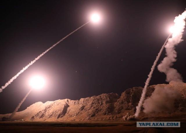 """""""Смерть Израилю!"""": Иран нанес ракетный удар по Сирии"""