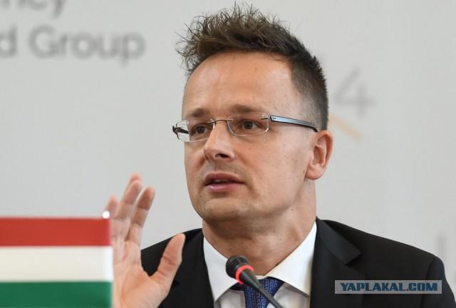 Глава МИД Венгрии: Украина может забыть о будущем в составе ЕС