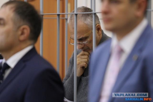 Бывшему сахалинскому губернатору вынесли приговор