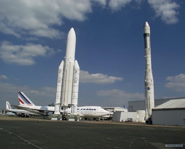 Авиавыставка в Ле Бурже (Франция) le Bourget
