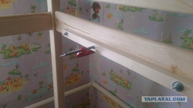 Как я детям кровать мастерил