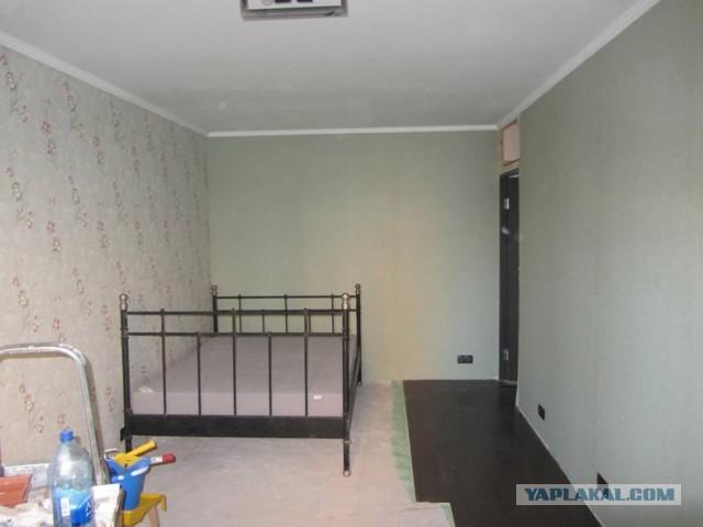 Ремонт комнаты женскими силами :)