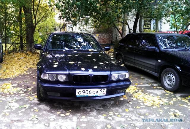 Продам BMW 740i