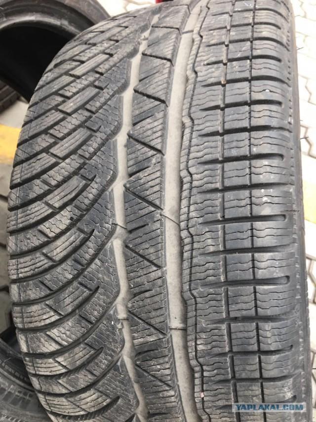 Продам Шины бу (зима) Michelin Pilot Alpin