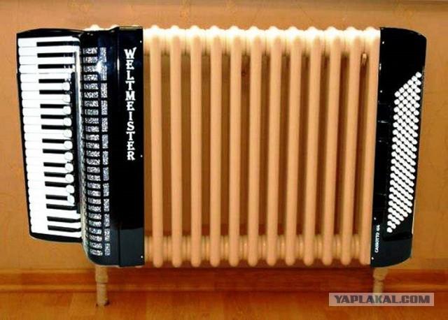 10 необычных радиаторов отопления