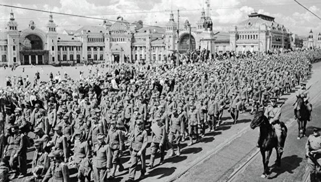 17 Июля 1944 года, Москва, СССР