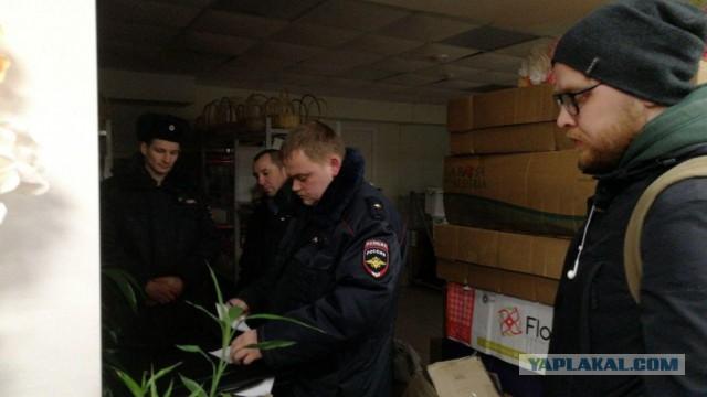 В Архангельске полиция изъяла партию листовок с информацией об антимусорной акции