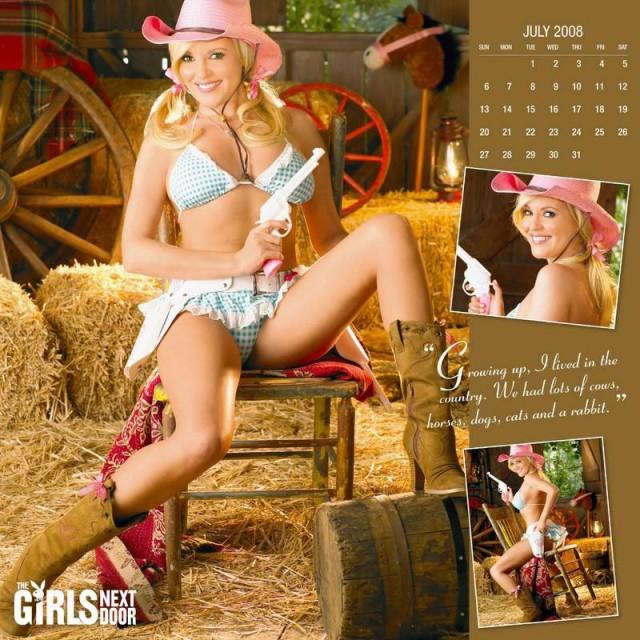 Календарь на 2008 год от Playboy (14 фото)