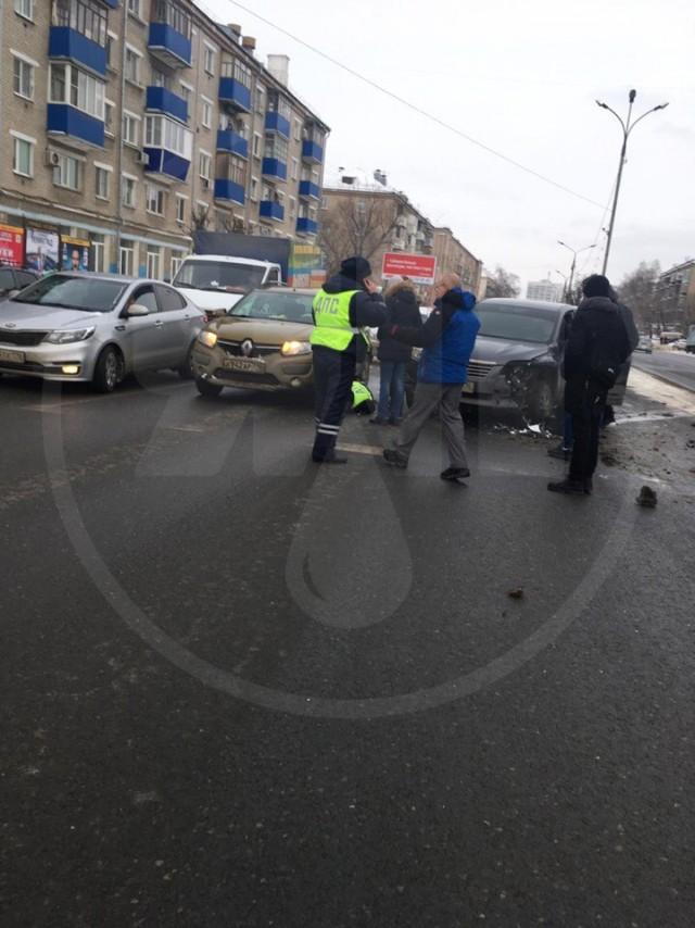 В Казани сбили гаишника, который перекрывал дорогу для проезда VIP персон - в городе объявлен план «Перехват»