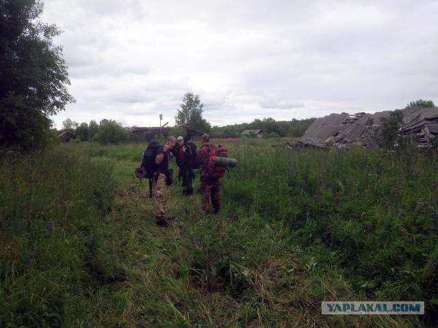 Так умирали деревни (фото-отчет ПВД)