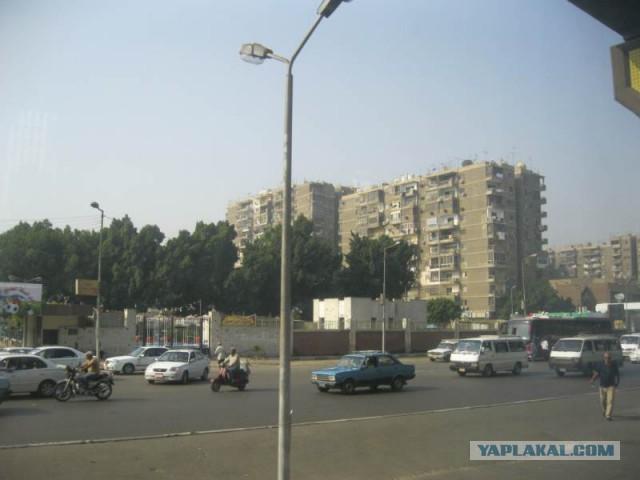 Египет. За отелем