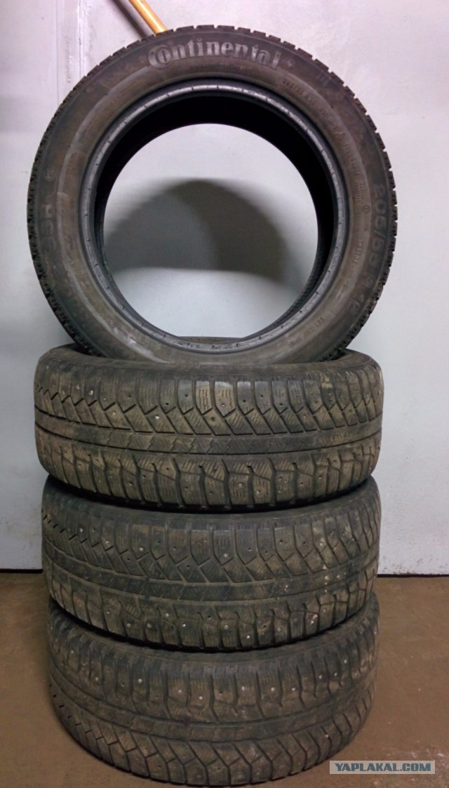 Продаю резину б/у 205/55R16