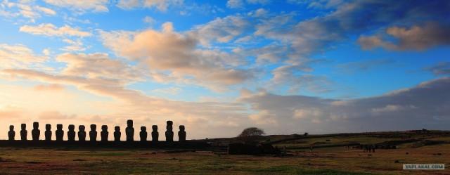 Южно-Американский дневник. остров Пасхи