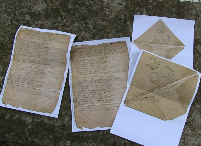 «Но любовь мою разлучит только смерть одна»: предсмертное письмо защитника Севастополя ищет адресата