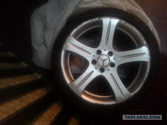 Диск и шина Mercedes R18