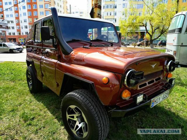 Продаётся УАЗ эксклюзив