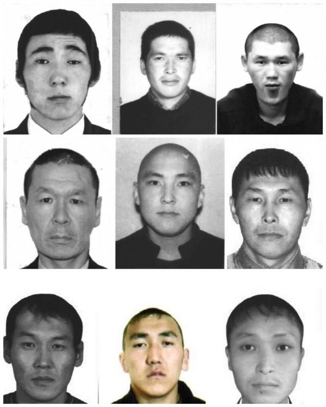 В Республике Тыва полицейские ведут розыск девяти задержанных, которые сбежали из изолятора временного содержания