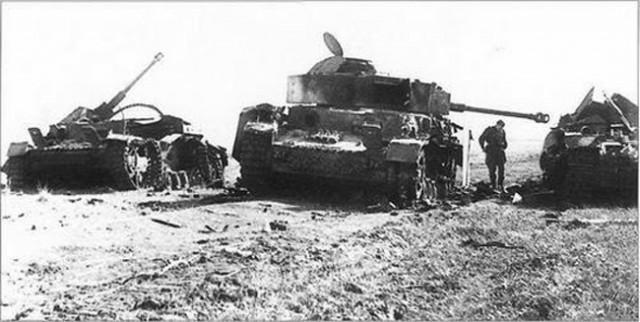 Сражение под Прохоровкой.