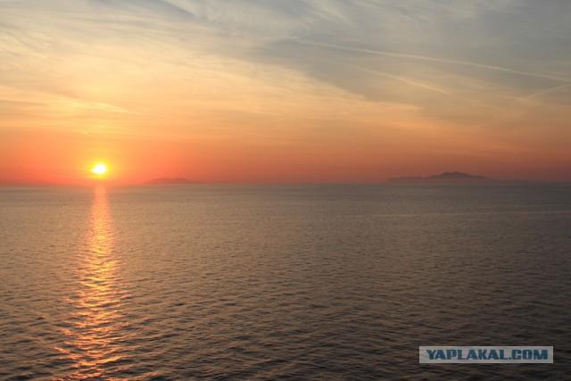 Круиз на ведре по Средиземному морю