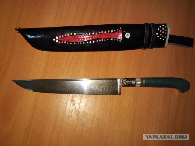 Узбекские ножи. Пчак [Питер]