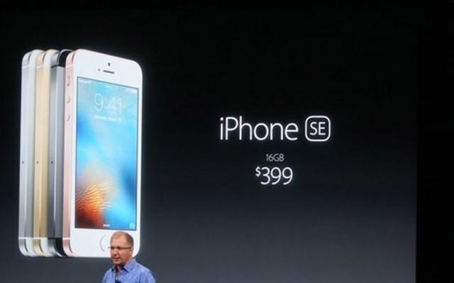 Apple представила новый iPhone 5SE