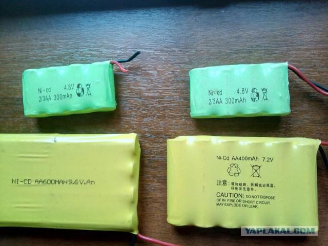 Аккумуляторы Ni-cd и Li-ion отдам даром в Москве.