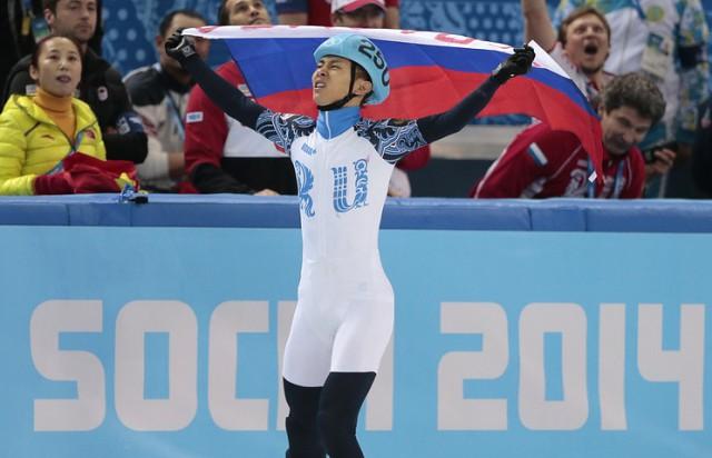 Российский шорт-трекист Виктор Ан намерен участвовать в ОИ-2018 под нейтральным флагом