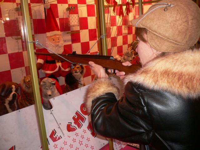 Рождественская удача русской снайперши !