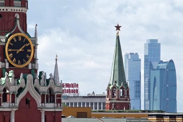 Москва - вид с крыш