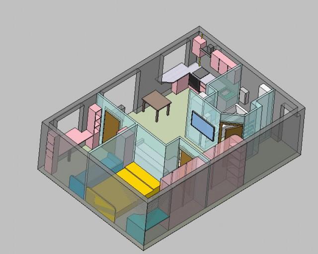 Капитальный ремонт 2-х ком. квартиры