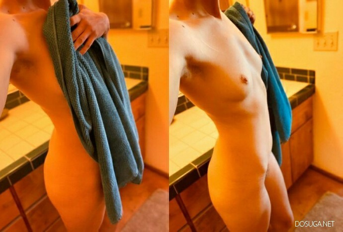 Девушки до и сразу после раздевания