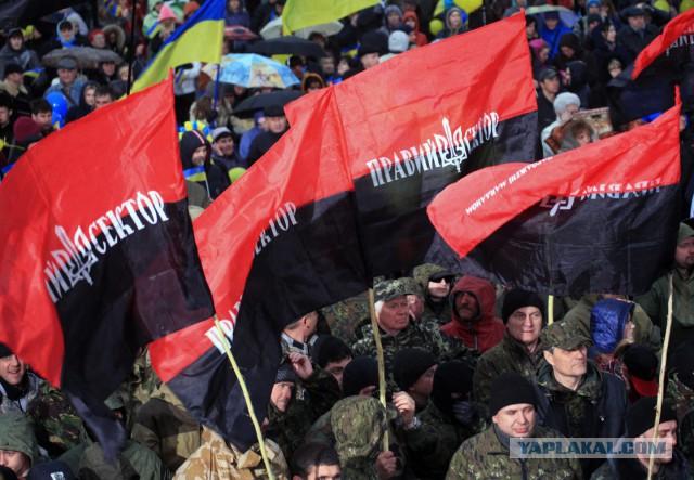 """ФИФА наказала Украину за флаг """"Правого сектора"""" на матче в Польше"""