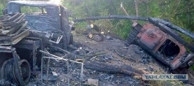 Общие потери в Донбассе за 02-30 мая 2014 года
