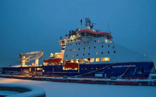 Российский ледокол стал судном года