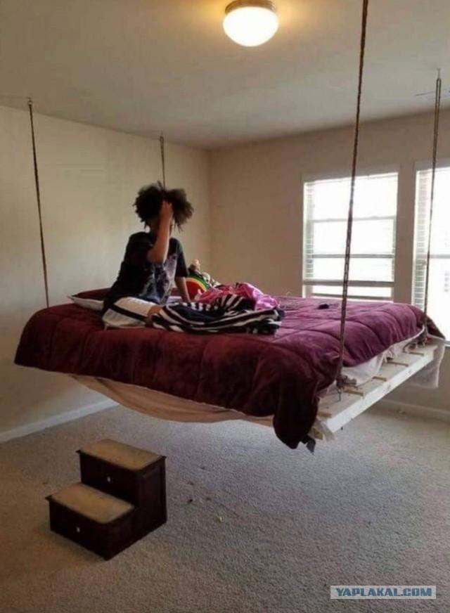 Прикольные и необычные кровати