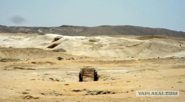 Под плато Гизы в Египте найдено что то интересное