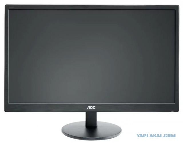 """Продам монитор AOC 23.6"""" M2470SWDA2 ЧЕРНЫЙ A-MVA LED 4MS 16:9 DVI M/M 1000:1 250CD 1920X1080 D-SUB FHD"""