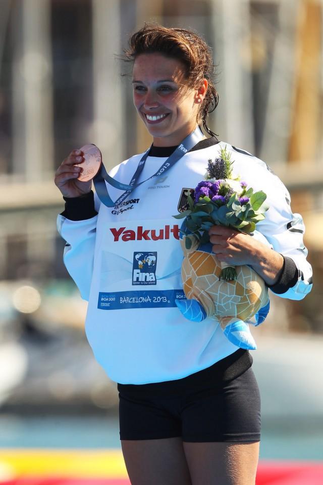Хай-дайверша сборной Германии Анна Бадер