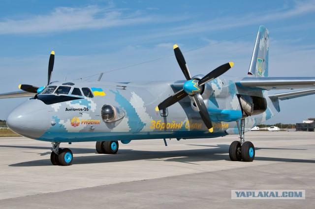 """ВВС Украины получат самолет """"Везунчик"""""""