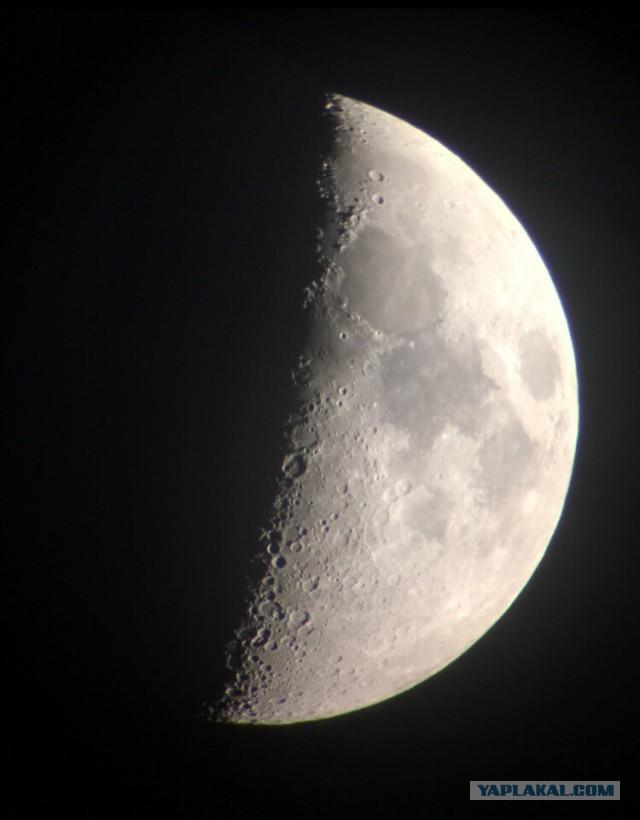 Просто, сегодняшняя луна